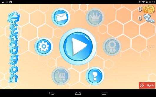 Настольная стртегия Hexxagon HD для Android