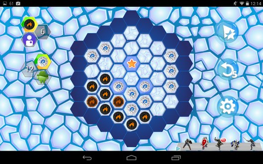 Ваш ход - Hexxagon HD для Android