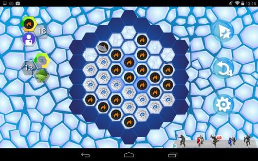 Ход противника - Hexxagon HD для Android