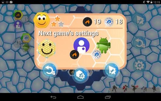 Поле выиграно - Hexxagon HD для Android