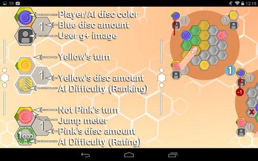 Обучение - Hexxagon HD для Android