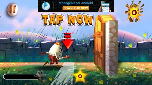 Начало игры -  Humpty Dumpty Smash для Android