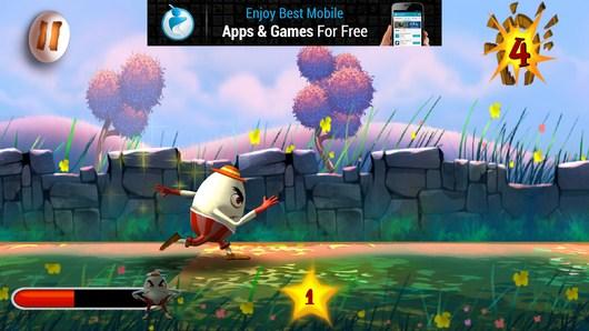 Герой разбегается -  Humpty Dumpty Smash для Android