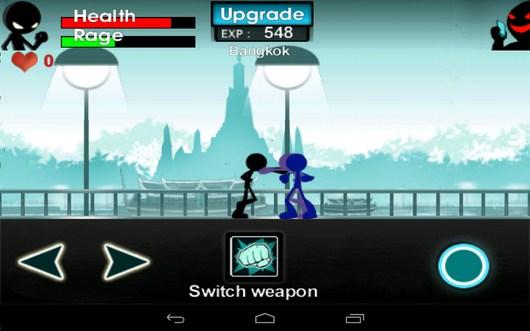 Куча противников - iKungfu для Android