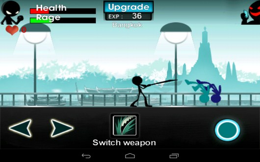 Бой мечем - iKungfu для Android