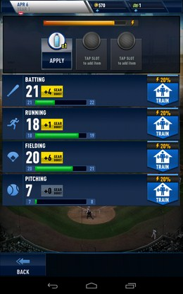Тренировка спортсменов - MLB Franchise