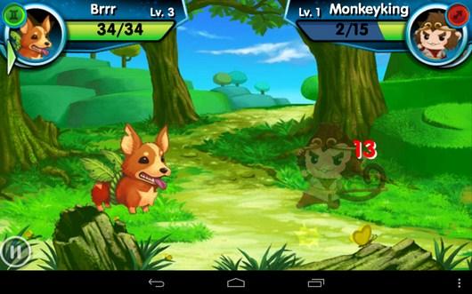 Ваш удар - Monster Galaxy для Android