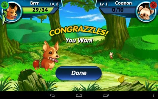 Снова победа - Monster Galaxy для Android