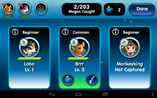 Питомцы - Monster Galaxy для Android