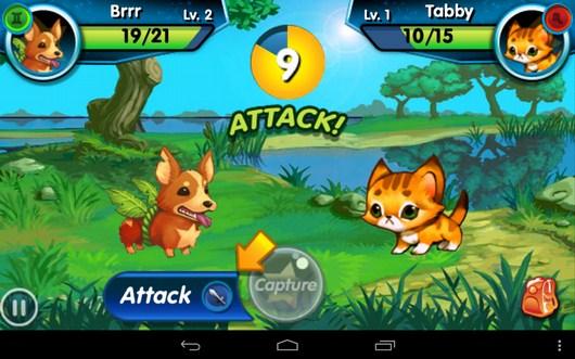 Новая атака - Monster Galaxy для Android