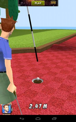 Мяч в лунке - My Golf 3D для Android