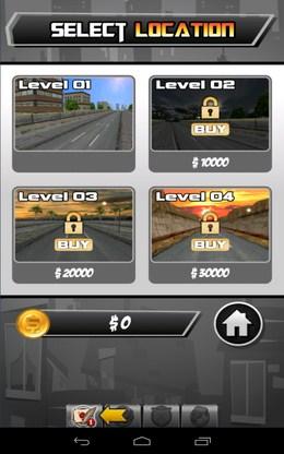 Выбор левела - PEPI Skate 3D  для Android