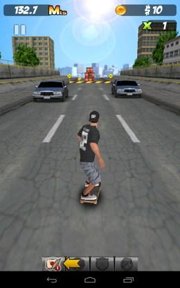 Начало езды - PEPI Skate 3D  для Android