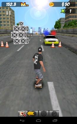 Преграды - PEPI Skate 3D  для Android