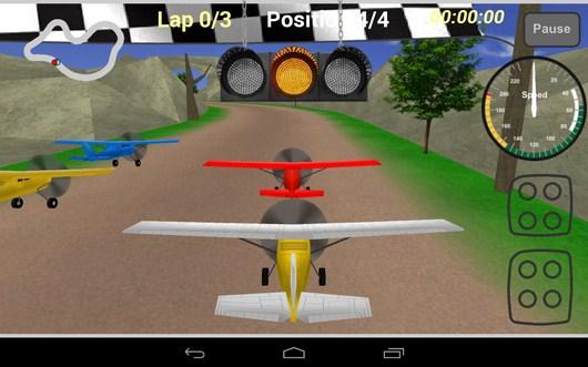 Старт - Plane Race для Android