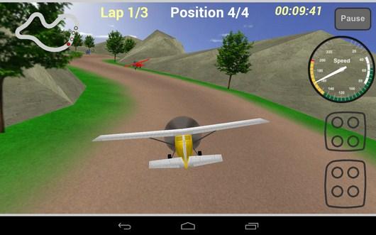 Начало залета - Plane Race для Android