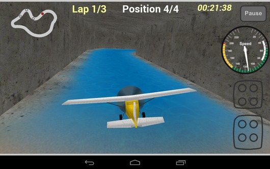 Тонель - Plane Race для Android