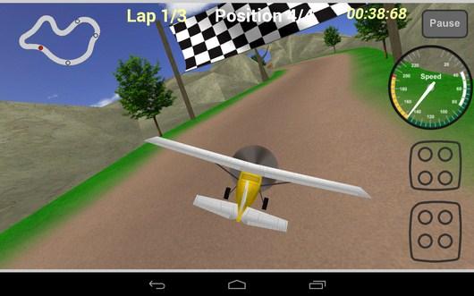 Первый круг - Plane Race для Android