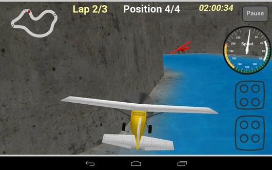 Догоняем противника - Plane Race для Android