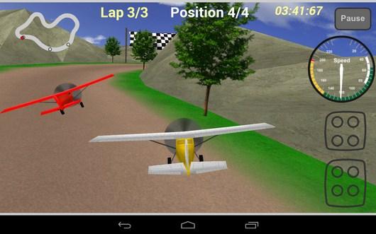 На хвосте - Plane Race для Android