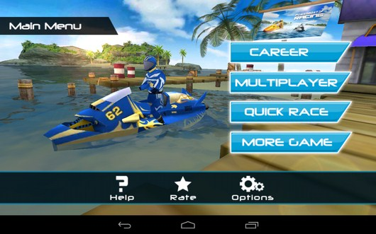 Водные гонки Powerboat Racing для Android