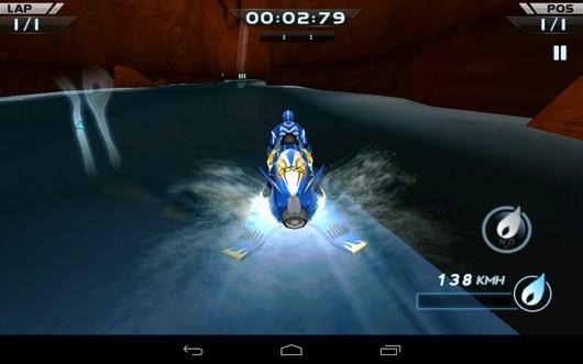 Вторая гонка - Powerboat Racing для Android