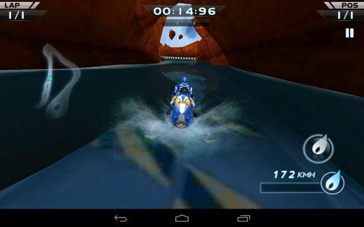 Выезд из пещеры - Powerboat Racing для Android