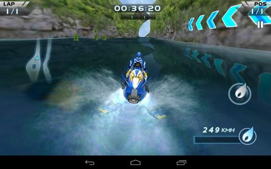 Набираем скорость - Powerboat Racing для Android