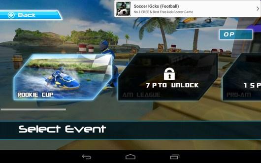 Выбор кубка - Powerboat Racing для Android