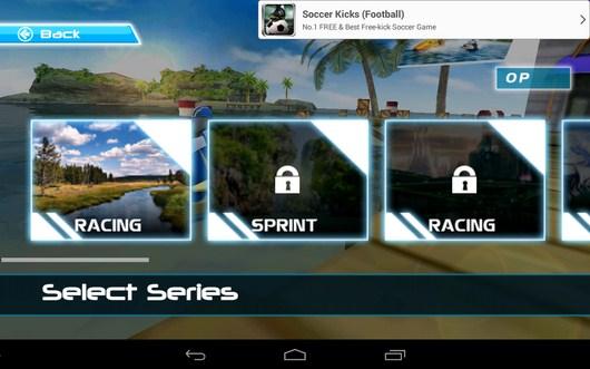 Выбор гонки - Powerboat Racing для Android