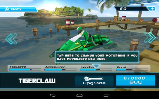 Новые мотоциклы -  Powerboat Racing для Android