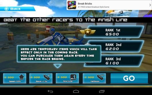 Задания миссии - Powerboat Racing для Android