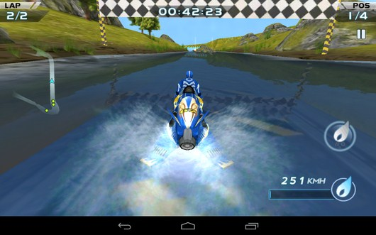 Финиш -  Powerboat Racing для Android