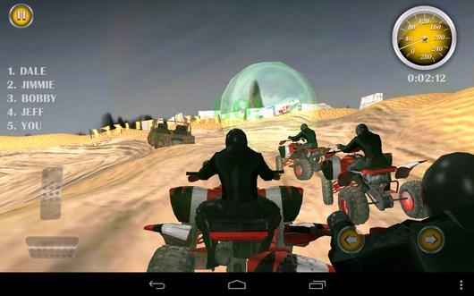 Начало состязаний - Quad Bike Race для Android