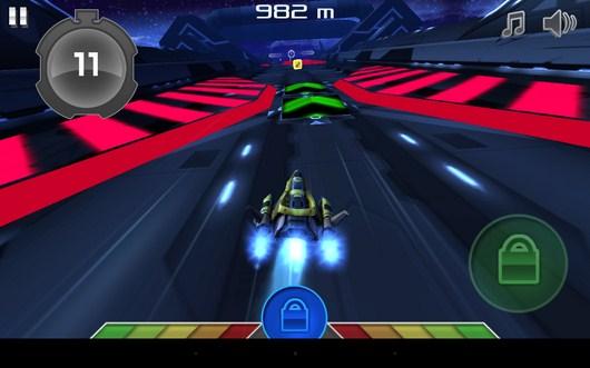 Впереди тонель - Racer XT Free для Android