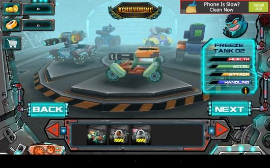 Ваш танк - Racing Tank для Android