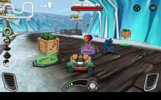 Бонусы - Racing Tank для Android