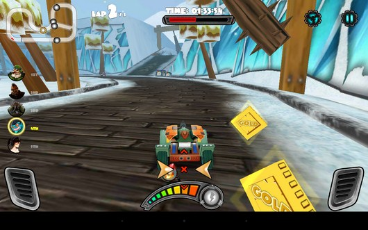 Монеты - Racing Tank для Android