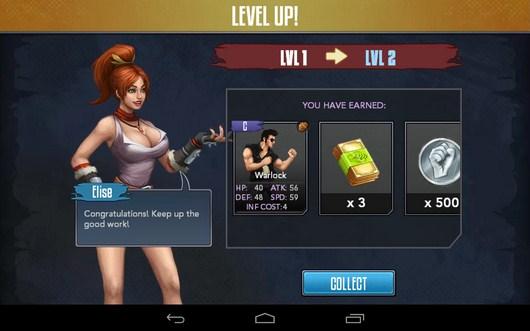 Новый уровень - Rage of the Immortals для Android