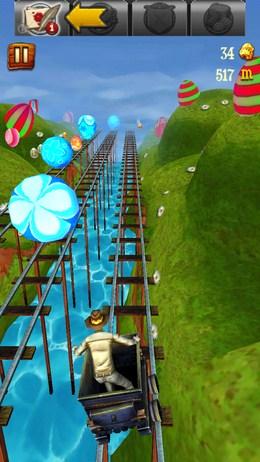 Движущиеся препятствия - Rail Rush  для Android