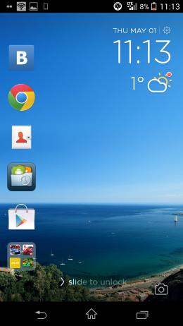 Экран блокировки - CM Locker для Android