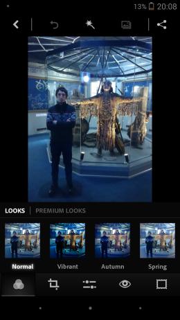 Фильтры - Adobe Photoshop Express для Android