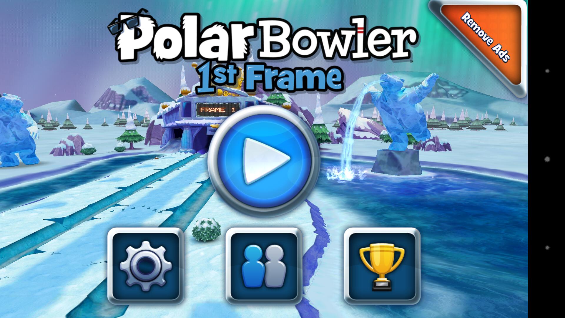Меню - Polar Bowler для Android