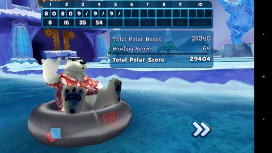 Таблица - Polar Bowler для Android