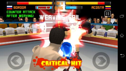 Критическая атака - Punch Hero для Android