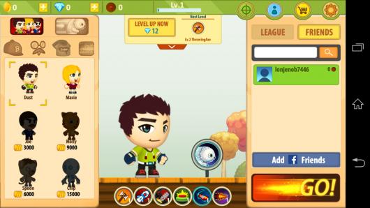 Персонаж - Battle Run S2 для Android
