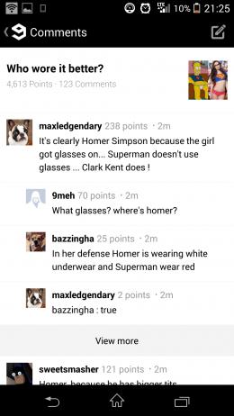 Комментарии - 9GAG для Android