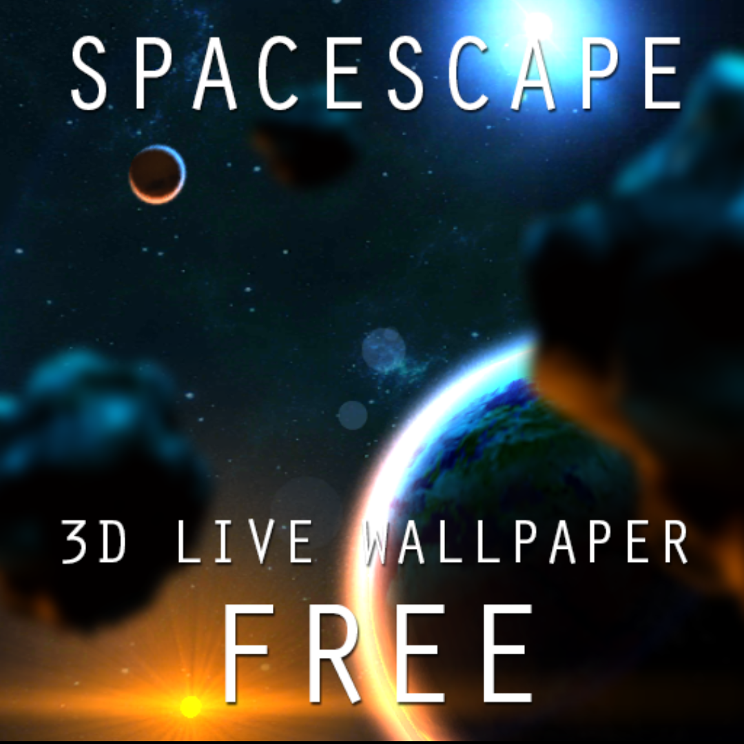 Иконка - SpaceScape 3D LWP для Android