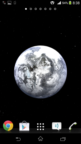 Замерзшая планета - Universe 3D для Android