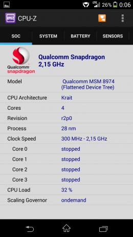 Чип - CPU-Z для Android